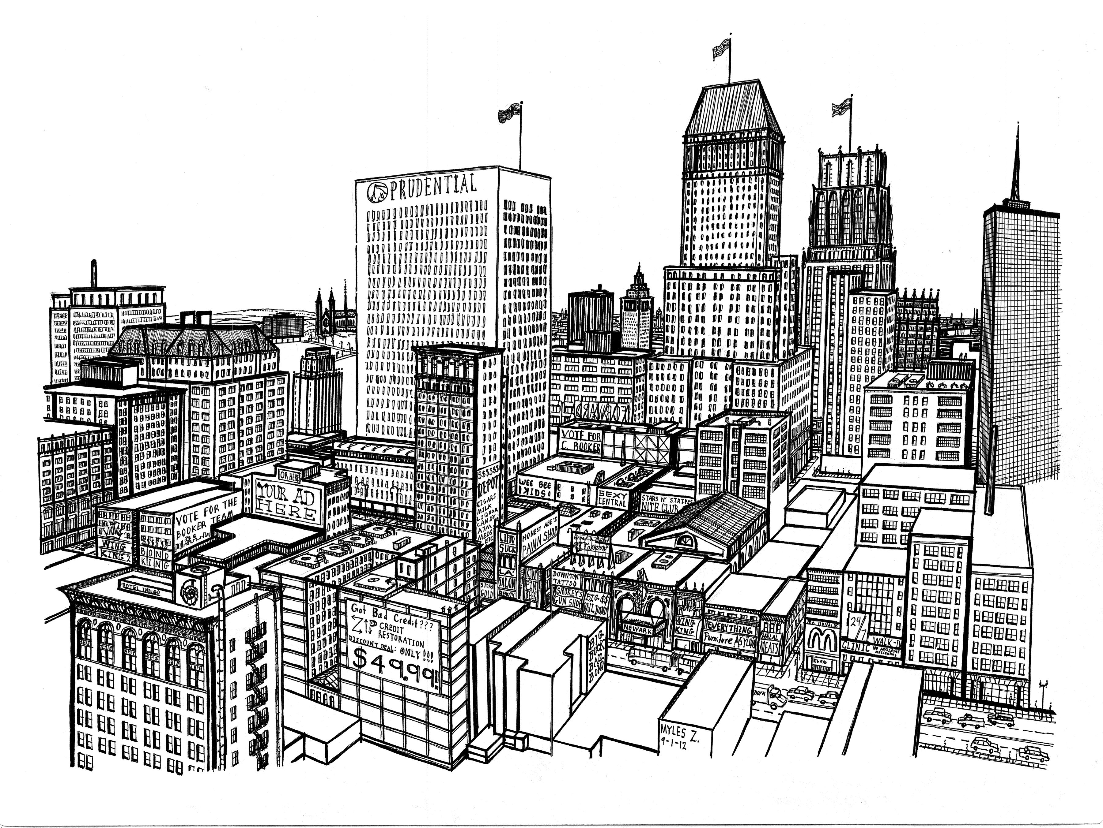Drawing Newark