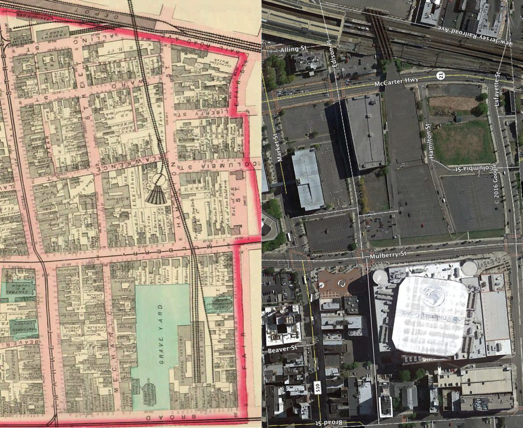 Newark in 1873 and 2016