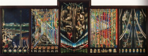 Voice of the City - Joseph Stella, 1922